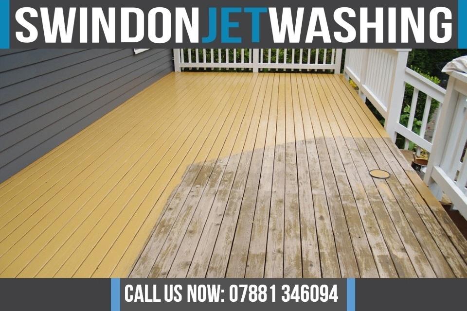 Decking Staining Swindon Jet Washing Services